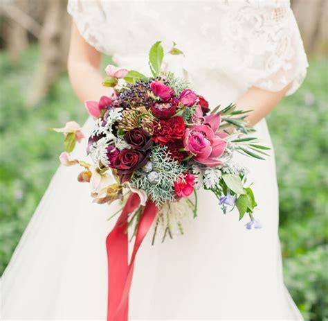 Ethereal Burgundy Winter Wedding Inspiration