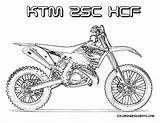 Dirt Bike Coloring Ktm Rider Yescoloring Colouring Bikes Boys 250xcf Fierce sketch template
