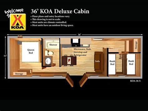 two bedroom cabin floor plans deluxe cabins hershey koa