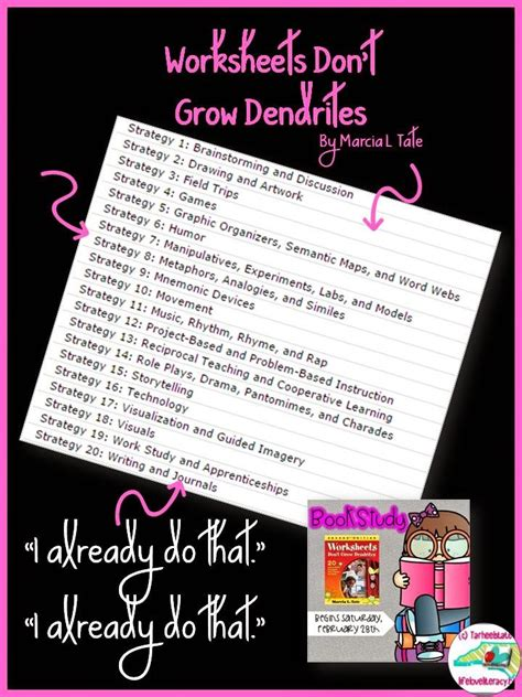 literacy book study worksheets don t grow