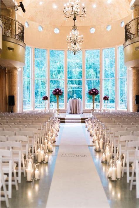 Glam Houston Wedding At Chateau Polonez Indoor Wedding