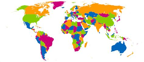 color world 4 colour theorem all the world s countries can be