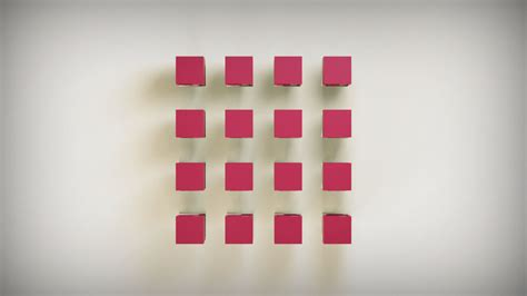 hydraulic logocubes animation