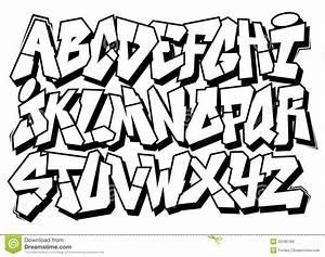 Graffiti Alphabet Block Letters A-Z | theveliger