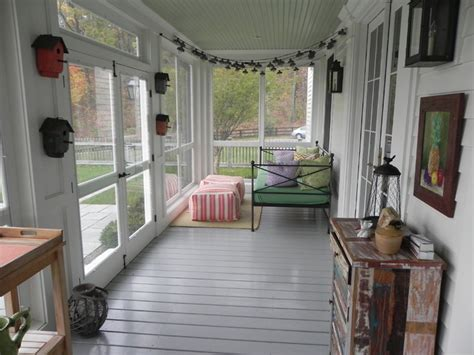 Southern Living Kitchens Ideas - screened porch addition
