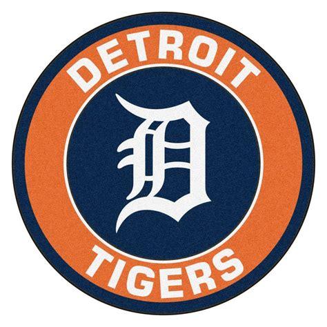 fanmats mlb detroit tigers orange  ft     ft