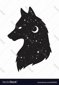 Outline Of Wolf Moon