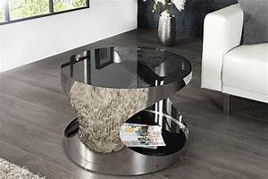 Couchtisch Rund 60 Cm : design couchtisch toronto 60cm glas edelstahl dunord design ~ Bigdaddyawards.com Haus und Dekorationen