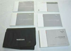 2013 Nissan Rogue Owners Manual Guide Book Set With Case