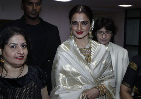 Rekha At The '61st Idea Filmfare South