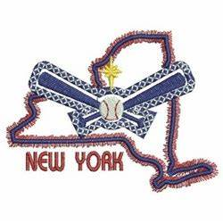 Neon New York Embroidery Designs Machine Embroidery