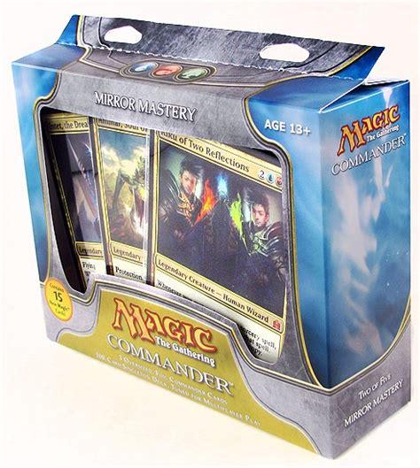 magic the gathering commander deck box 2011 da card world