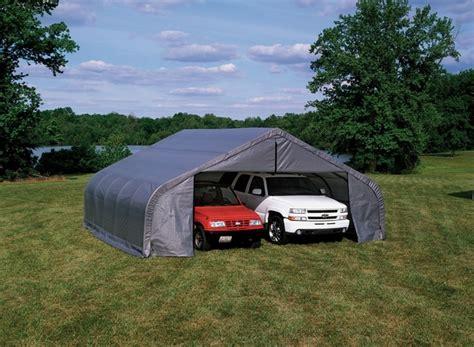shelterlogic peak style portable carports  shelters  shipping