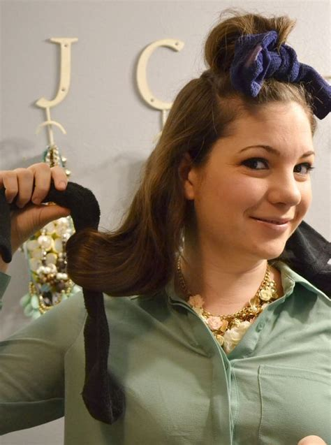 curl  hair  heat  heat curls tutorials