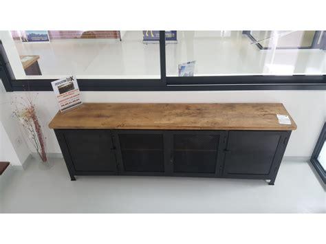 bureau industriel pas cher enchanteur meubles industriels pas cher avec console daco