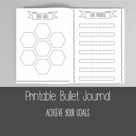 bullet journal dotted templates bullet journal ultimate collection hand drawn style
