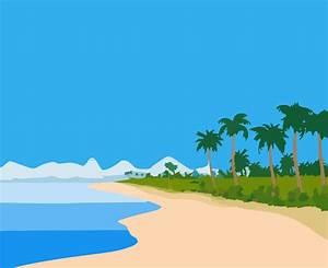 Beach Cartoon - ClipArt Best