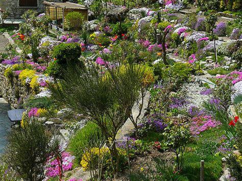 cuisine à vivre rocailles et terrasses alpines jardins secs