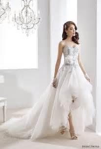 hi low bridesmaid dresses jolies collection 2016 colored wedding dresses wedding inspirasi