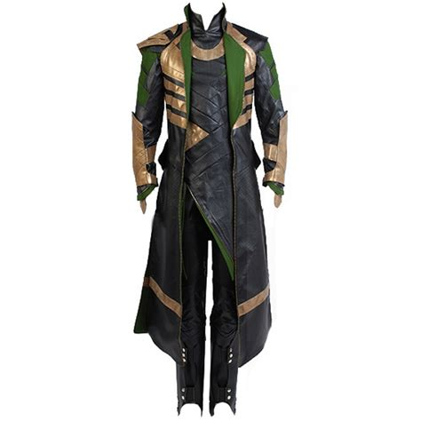 Thor The Dark World Loki Cosplay Costume Thor The