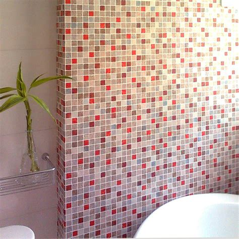 free shipping wei bathroom wallpaper waterproof mosaic