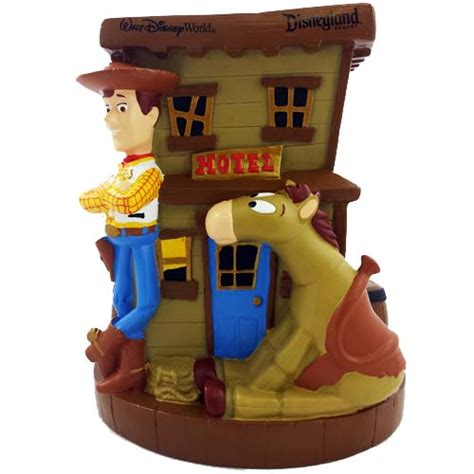 disney coin bank woodys   toy story
