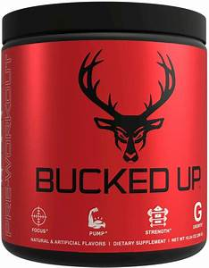 Bucked Up Pre Workout Review   1 Strongest Pre Worth Buying