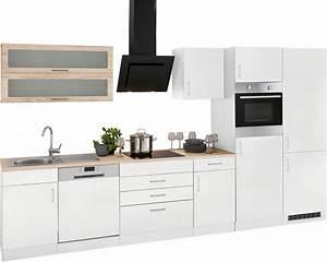 Küchenzeile 360 Cm : held m bel k chenzeile mit e ger ten und gro er k hl gefrierkombination utah breite 360 cm ~ Indierocktalk.com Haus und Dekorationen