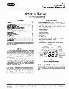 Carrier 33cs User Manual