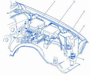 Chevy Blazer 4 3l V6 4 Door 2000 Electrical Circuit Wiring