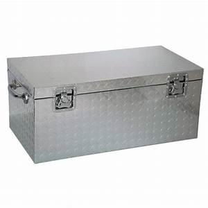 Cantine De Rangement : brick malle en aluminium vide 77x40x33cm achat vente coffre malle cdiscount ~ Teatrodelosmanantiales.com Idées de Décoration