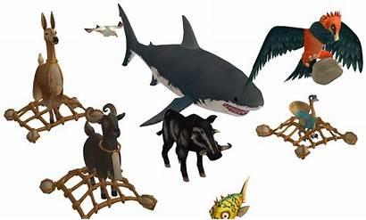 Raft Animals Funny Oo Pack Ingame Deviantart