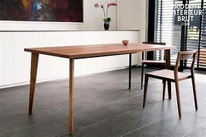 Pied Table Scandinave : table esprit deco scandinave ~ Teatrodelosmanantiales.com Idées de Décoration
