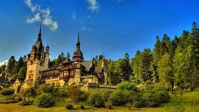 Castle Romania Peles Wallpapers Background 1920 Castles