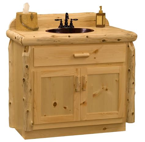 knotty pine bathroom vanity cabinets rustic bath vanity knotty pine bathroom vanity cabinets