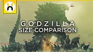 Godzilla Earth Is MASSIVE!   Godzilla Size Comparisons ...