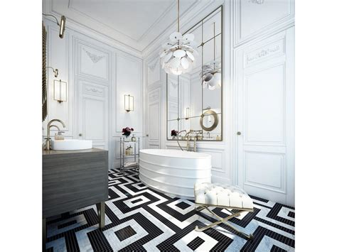 Black Master Bathroom