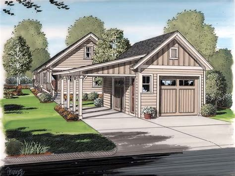 Garage Plans With Porch by Cottage House Plans With Garage Cottage House Plans With