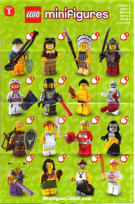 lego minifigures series 3 collection my legos lego toys custom lego lego minifigs
