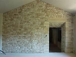 Pierre De Parement Intérieur : pose pierre de parement sur mur int rieur ~ Melissatoandfro.com Idées de Décoration