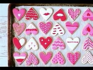 Rezept Für Kekse : kekse f r den valentinstag verzieren anleitung und rezept youtube ~ Watch28wear.com Haus und Dekorationen