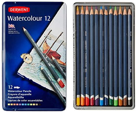 ★free Shipping★derwent Water Color Pencils, Watercolor