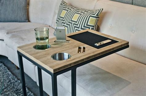 diy sofa table with outlet modern tv tray tables and fabulous ways to use them