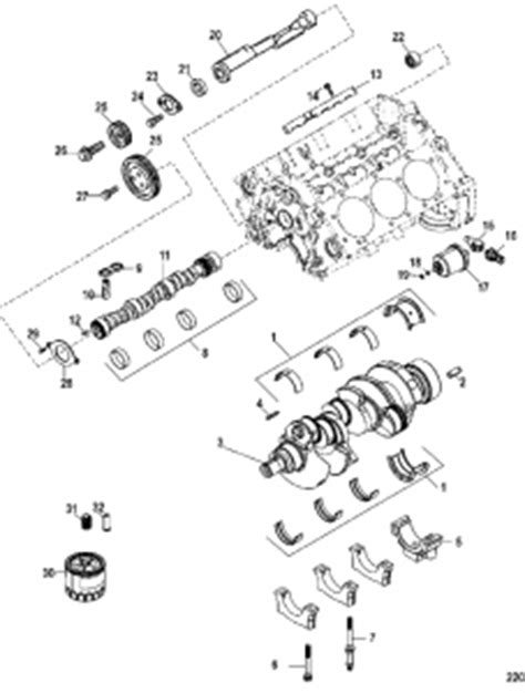 Mercruiser Engine Performance Specifications