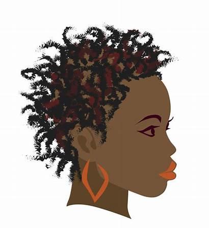 Clipart Braids African Clip Hair Afro Vector