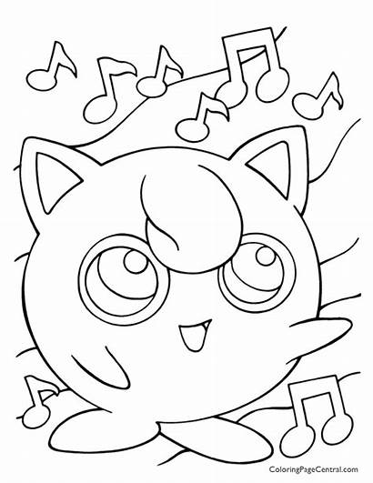 Pokemon Coloring Jigglypuff
