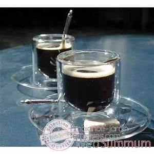 Verre à Café : 2 tasses caf 8 cl avec soucoupe silodesign7 sd7s dans verres silodesign jardin ~ Teatrodelosmanantiales.com Idées de Décoration