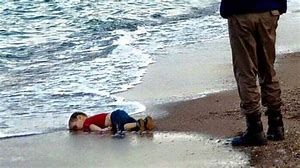 Image result for dead syrian boy on beach