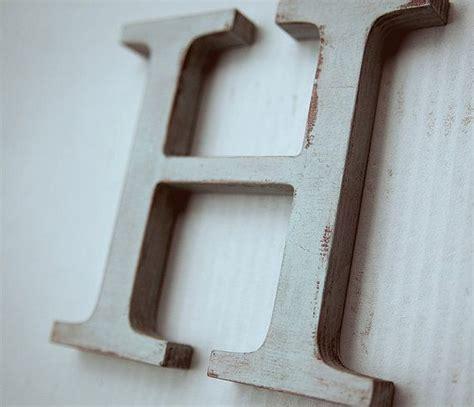 wooden alphabet letters vintage decorative letter