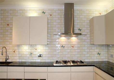 Large Subway Tile Backsplash Home Design